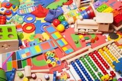 Very many toys Royalty Free Stock Photography