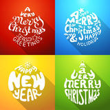 A Very Merry Christmas And Happy New Year. Royalty Free Stock Image