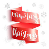 Very Merry Christmas. stock illustration