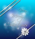 Very Merry Christmas wish Stock Images