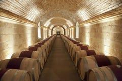 Luxury Wine cellar, Nappa Valley Royalty Free Stock Photos