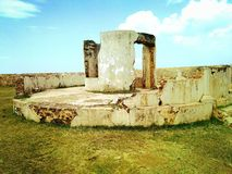 Galle fort ruins in Sri lanka royalty free stock photo