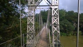 Mahaweli river and bridge _ Srilanka. stock image