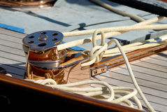 Very nice boat, regates royale. Boat show, regate royale 2007 (Cannes, France), ancient sailing boat Stock Image