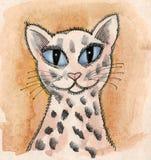 Very nice cat stock illustration