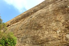 Very nice hill with sky of sittanavasal cave temple complex. Sittanavasal is a small hamlet in Pudukkottai district of Tamil Nadu, India. It is known for the Stock Images
