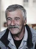 Very Nice Image of a Positive Old man Stock Images