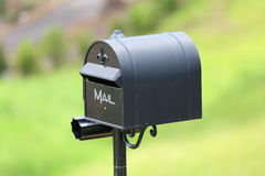 Mailbox. A very nice looking mailbox with perfect background blur Royalty Free Stock Images