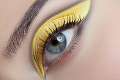 Very nice makeup. Stock Photos