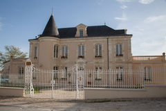 Very nice mansion. A very nice mansion in France royalty free stock images
