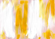Multicolor acrylic paint texture abstract drawing Royalty Free Stock Images