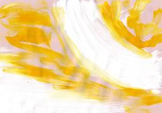 Multicolor acrylic paint texture abstract drawing Stock Image