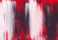 Multicolor acrylic paint texture abstract drawing Royalty Free Stock Photo