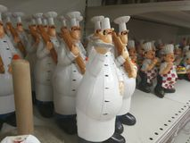 Its Dinner And chef time!. Very nice trophy of large number of chefs Stock Image