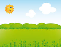 Very nice VECTOR landscape Stock Images