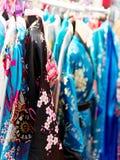Very nice view kimono at market Stock Photos