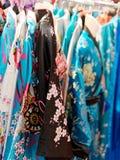 Very nice view kimono at market Royalty Free Stock Image