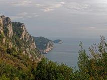 very nice view of la spezia gulf Royalty Free Stock Photography