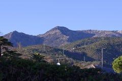 Very nice view of mountain around arenzano Royalty Free Stock Image