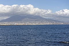 Very nice view of naples gulf Stock Images