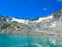 very nice view of ponte di legno Stock Images