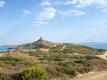 Very nice view of sardegna coastline. In italy stock photography