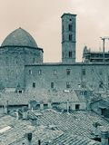 very nice view of volterra Stock Images