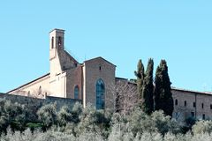 very nice villagge named san gimignano Stock Photo