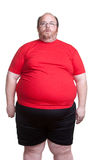 Very Obese Man Royalty Free Stock Photography