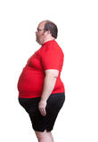 Very Obese Man Stock Image