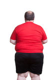 Very Obese Man Stock Photos