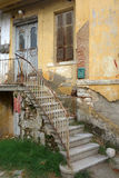 Very old abandoned house stock images