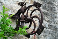 Very Old And Rusty Device Stock Photography