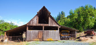 Very Old Barn Stock Image