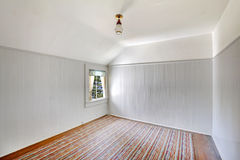 Very old bedroom empty. Royalty Free Stock Image