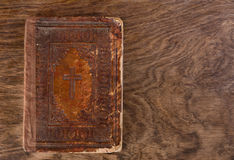 Very Old Bible Royalty Free Stock Images