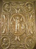 Very old Bible's cover Royalty Free Stock Photography
