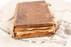 Very old book Royalty Free Stock Photography