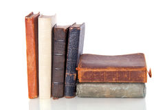 Very Old Books Stock Photo