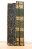 Very old books from 19 century Royalty Free Stock Photo