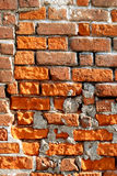 Very old brick wall Royalty Free Stock Image