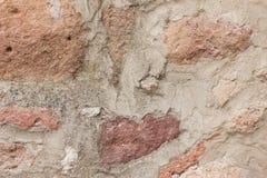 Very old brick wall texture Royalty Free Stock Photos