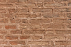 Very old brick wall texture Stock Photography