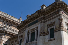 Very old building #7. Salsomaggiore Italy Royalty Free Stock Photography