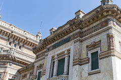 Very old building #8. Salsomaggiore Italy Stock Photo