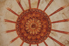 Very Old Ceiling Painting Stock Images