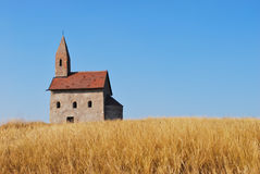 Very old church Stock Photography