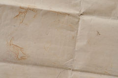 Very old crumpled brown paper texture Royalty Free Stock Image