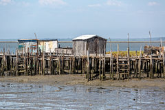Very Old Dilapidated Fishermen Village Royalty Free Stock Image