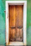 Very old door Stock Image